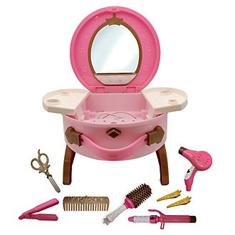 Disney Princess Light-Up and Style Vanity Playset