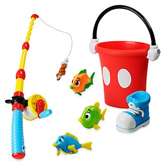 Disney Store Mickey Mouse Fishing Playset