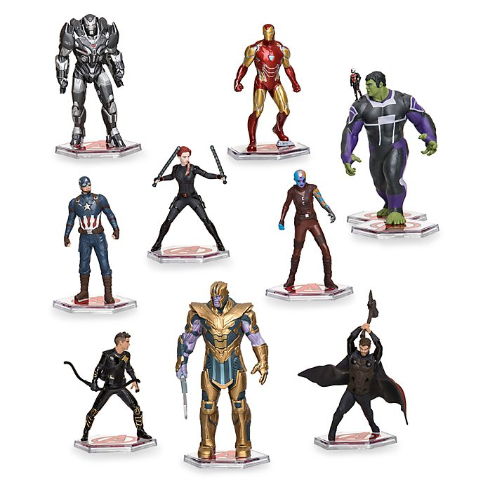 Set juego figuritas de lujo Vengadores: Endgame, Disney Store