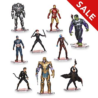 Disney Store Avengers: Endgame Deluxe Figurine Playset