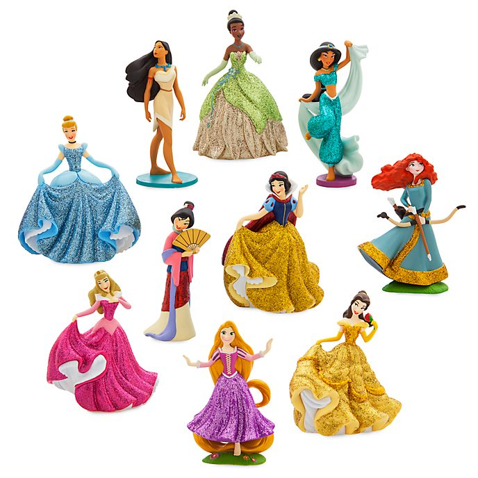 Set de juego exclusivo figuritas princesas Disney, Disney Store