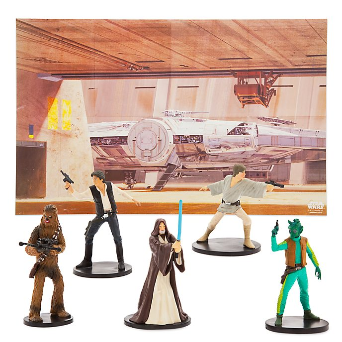 Set da gioco personaggi Star Wars Disney Store