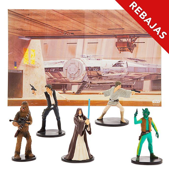Set de juego de figuritas Star Wars, Disney Store