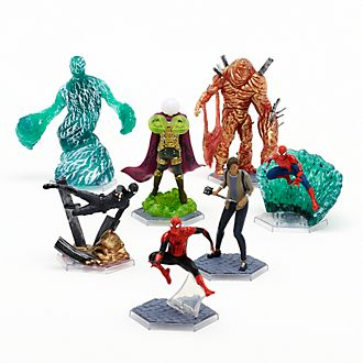 Set de juego figuritas exclusivo Spider-Man: Lejos de casa, Disney Store