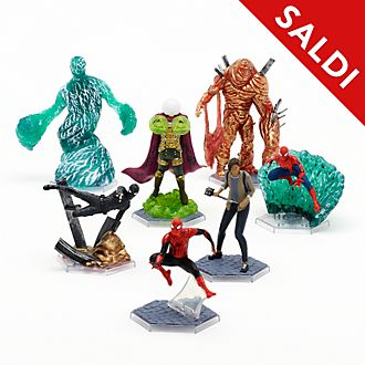 Set da gioco personaggi deluxe Spider-Man: Far From Home Disney Store