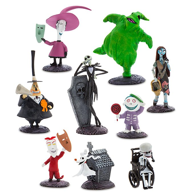 Disney Store - Nightmare Before Christmas - Figuren-Spielset Deluxe