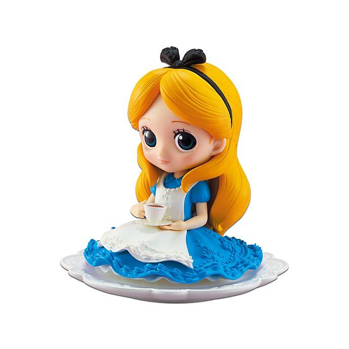 Banpresto figurita Q Posket Alicia en el País de las Maravillas con taza de té