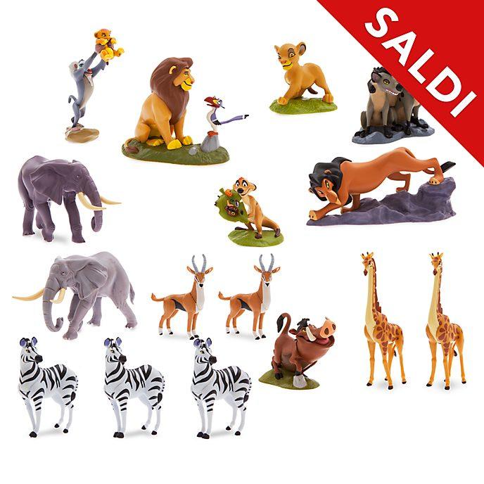 Mega set da gioco personaggi Il Re Leone Disney Store