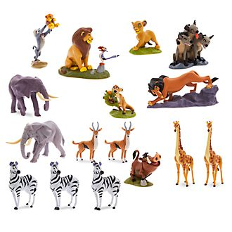 Disney Store The Lion King Mega Figurine Playset