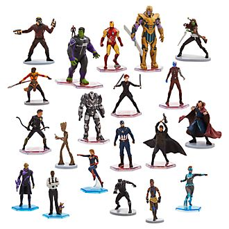 Disney Store Méga coffret de figurines Marvel