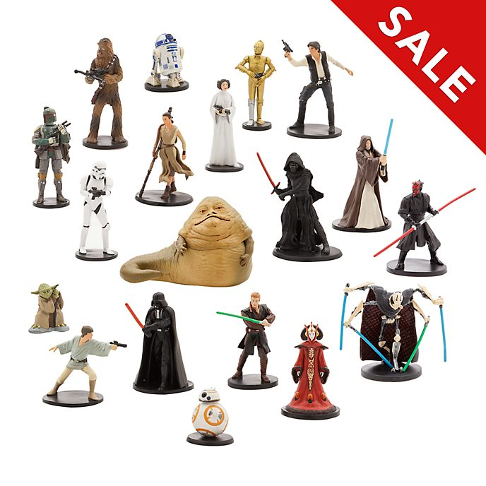Disney Store - Star Wars - Großes Spielfigurenset