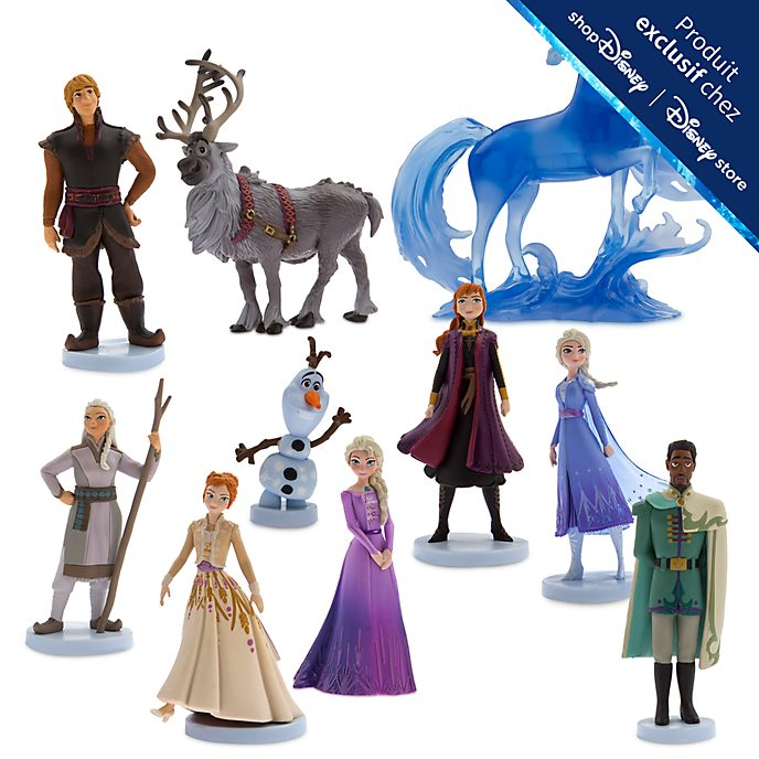 Disney Store Coffret de figurines La Reine des Neiges 2