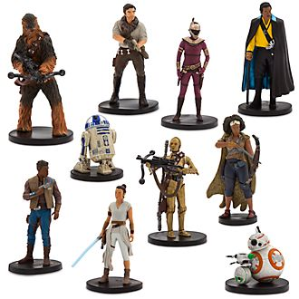Set juego figuritas exclusivo la Resistencia, Star Wars, Disney Store