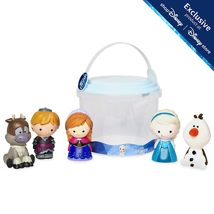 Disney Store Frozen Bath Toy Set