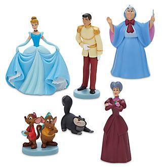 Disney Store Cinderella 70th Anniversary Figurine Playset