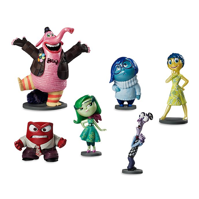 Disney Store Inside Out Figurine Playset