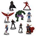 Disney Store Avengers Comics Deluxe Figurine Playset