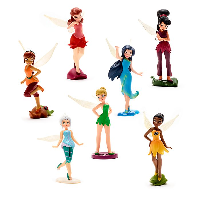 Set juego figuritas hadas, Disney Store