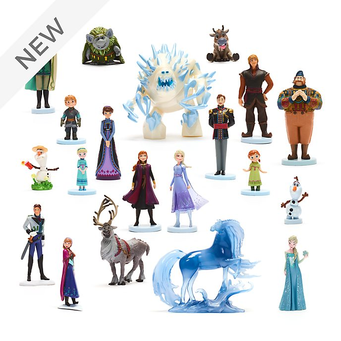 Disney Store Best of Frozen Mega Figurine Playset
