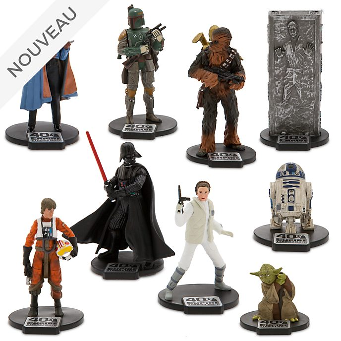 Disney Store Coffret deluxe de figurines Star Wars: L'Empire contre-attaque