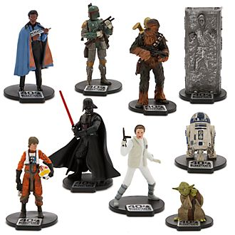 Set juego figuritas Star Wars: El Imperio Contraataca, Deluxe, Disney Store