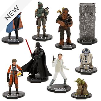 Disney Store Star Wars: The Empire Strikes Back Deluxe Figurine Playset