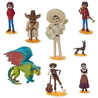 Set da gioco personaggi deluxe Disney Pixar Coco Disney Store