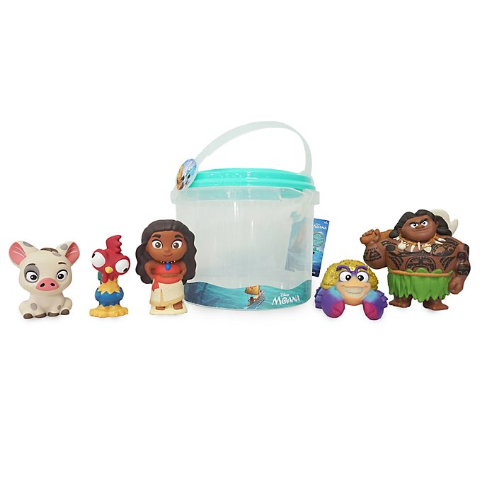 Disney Store Moana Bath Toy Set