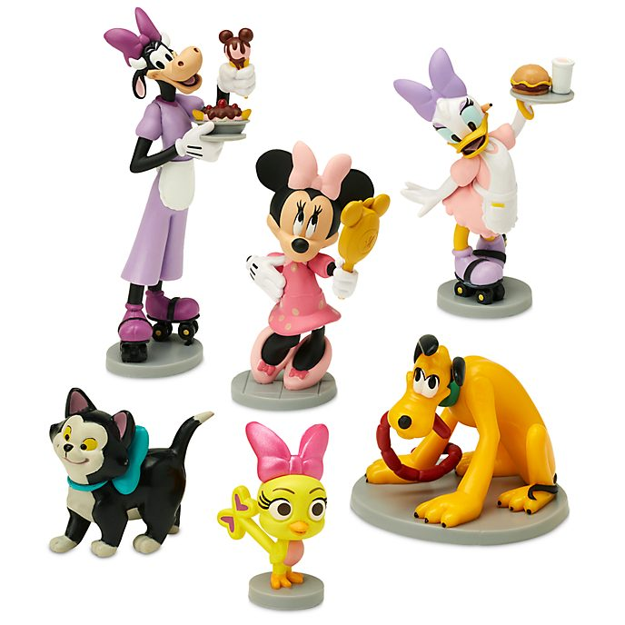 Disney Store Minnie's Happy Helpers Figurine Playset