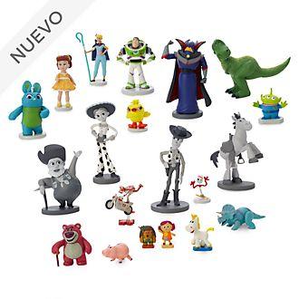 Megaset juego figuritas Toy Story, 25.º aniversario, Disney Store