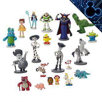 Disney Store - Toy Story - 25. Geburtstag - Großes Figuren-Spielset