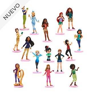 Set de juego de figuritas de lujo princesas Disney, Ralph rompe Internet, Disney Store