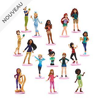 Disney Store Coffret deluxe de figurines Princesses Disney, Ralph2.0