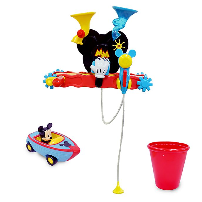 Disney Store Mickey Mouse Bath Playset