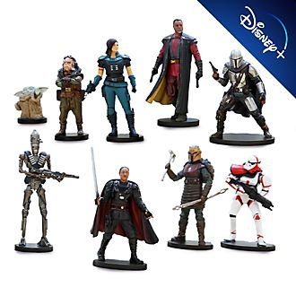 Disney Store Coffret deluxe de figurines The Mandalorian