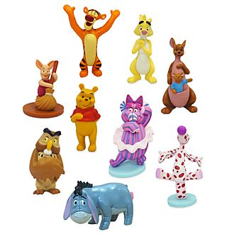 Disney Store Winnie the Pooh Deluxe Figurine Playset