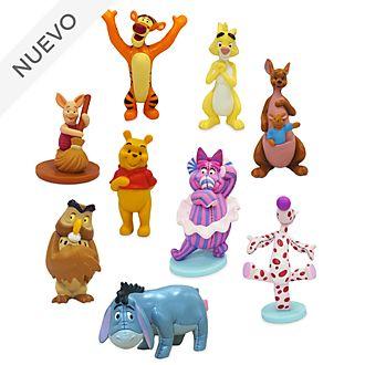 Set juego figuritas lujo Winnie the Pooh, Disney Store