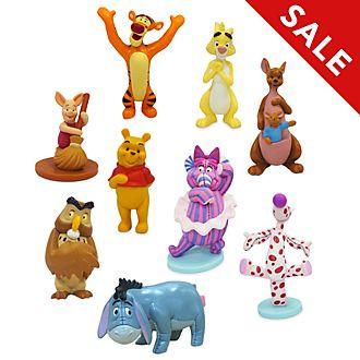 Disney Store - Winnie Puuh - Figuren-Spielset Deluxe