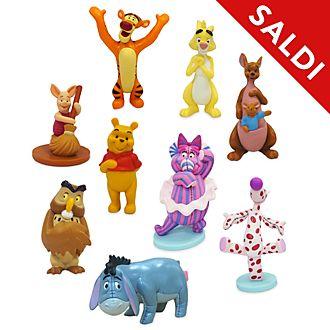 Set da gioco personaggi deluxe Winnie the Pooh Disney Store
