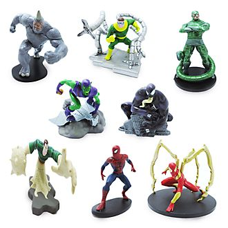 Disney Store Spider-Man Deluxe Figurine Playset