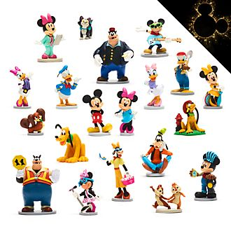 Disney Store Mickey and Friends Mega Figurine Playset