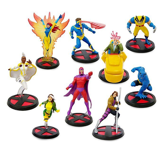 Set juego figuritas lujo X-Men, Disney Store