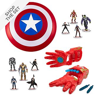Disney Store Avengers Toy Bundle