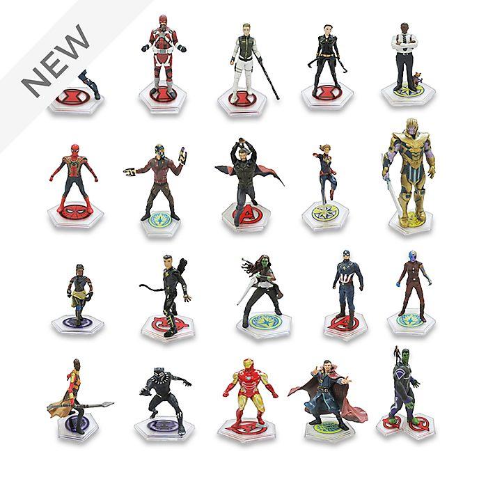 Disney Store Marvel Mega Figurine Playset