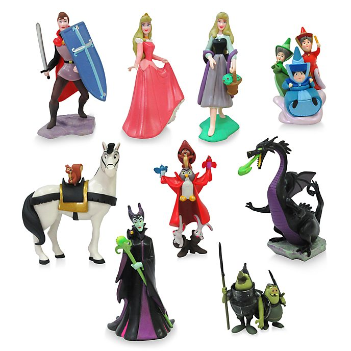 Set da gioco personaggi deluxe La Bella Addormentata nel Bosco Disney Store