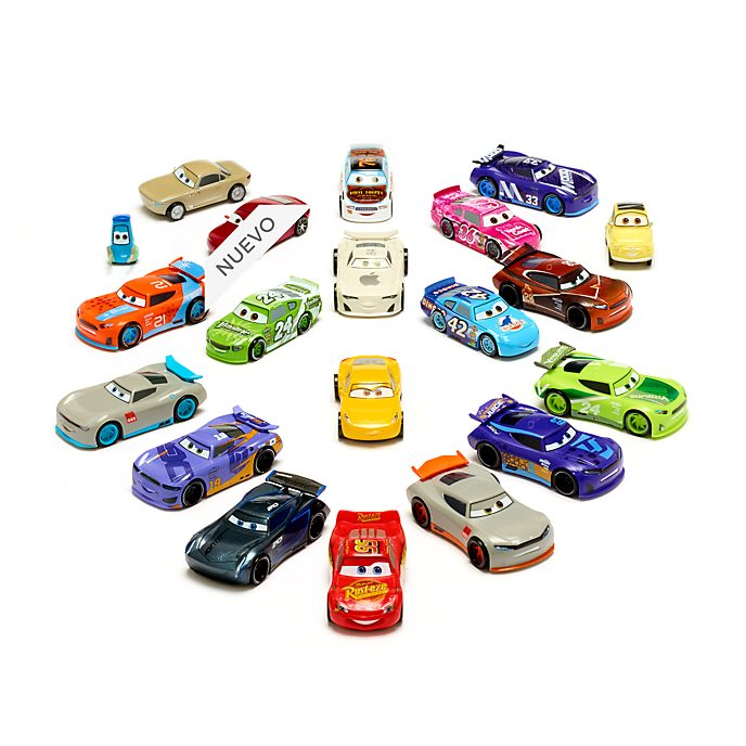 Megaset juego figuritas Disney Pixar Cars, Disney Store