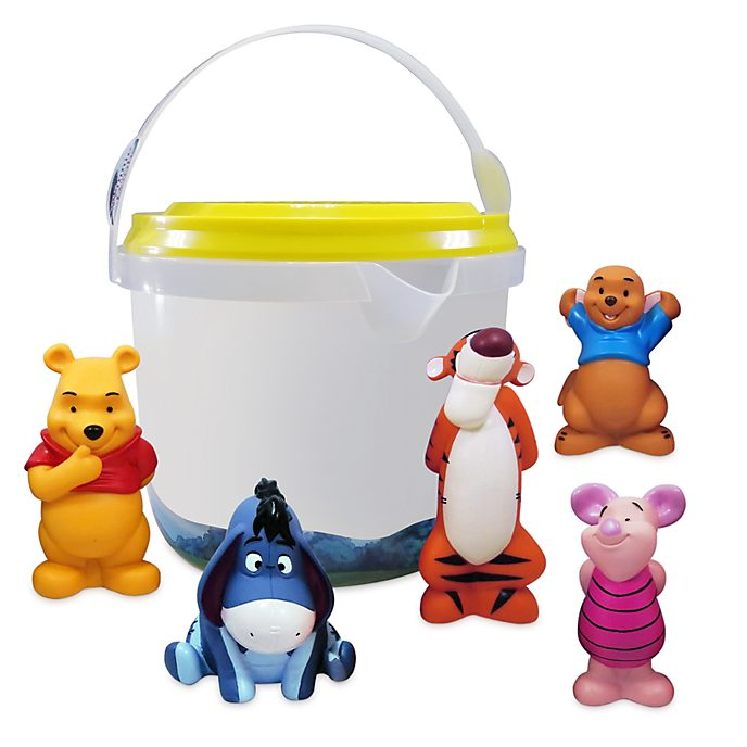 Disney Store Winnie the Pooh Bath Toy Set