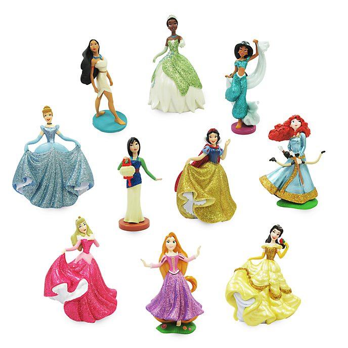 Disney Store Coffret deluxe de figurines Princesses Disney