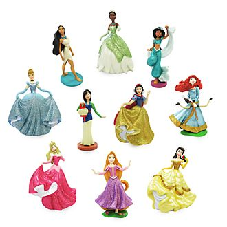 Set juego exclusivo figuritas princesas Disney, Disney Store