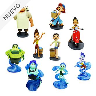 Set juego figuritas lujo Luca, Disney Store